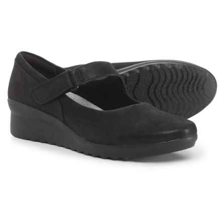 Clarks Cloudsteppers Caddell Yale Mary Jane Shoes (For Women) in Black - Closeouts