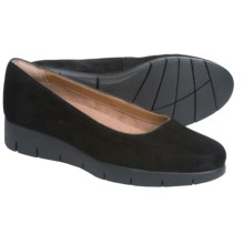 Clarks Daelyn Towne Shoes - Slip-Ons (For Women) in Black Suede - Closeouts