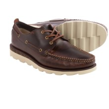 Clarks Dakin Row Shoes - Leather (For Men) in Mahogany Leather - Closeouts