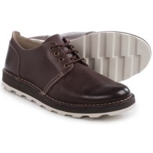 Clarks Darble Walk Shoes - Lace-Ups (For Men) in Chestnut Leather - Closeouts