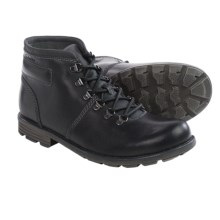 Clarks Darian Heath Boots - Leather (For Men) in Black Leather - Closeouts