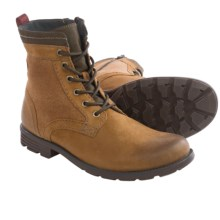 Clarks Darian Hi Boots - Leather (For Men) in Tobacco Leather - Closeouts