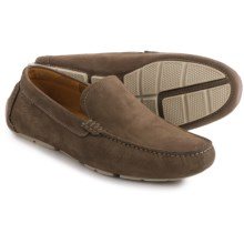 Clarks Davont Drive Shoes - Nubuck (For Men) in Olive Nubuck - Closeouts
