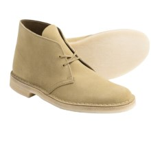 Clarks Desert Boots - Leather (For Men) in Maple Suede - Closeouts