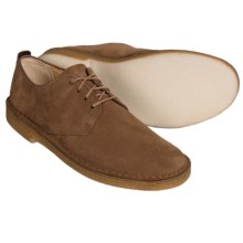 Clarks Desert London Shoes - Leather (For Men) in Cola Suede - Closeouts
