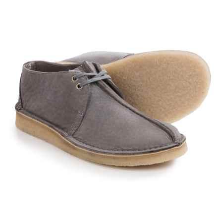 Clarks Desert Trek Shoes - Lace-Ups (For Men) in Blue/Grey - Closeouts