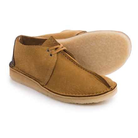 Clarks Desert Trek Shoes - Lace-Ups (For Men) in Bronze/Brown - Closeouts