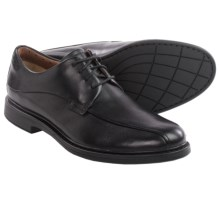 Clarks Drexlar Way Leather Shoes - Oxfords (For Men) in Black Leather - Closeouts