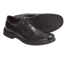 Clarks Euclid 4 Eye Shoes - Leather, Oxfords (For Men) in Black - Closeouts