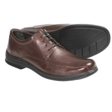 Clarks Euclid 4 Eye Shoes - Leather, Oxfords (For Men) in Brown - Closeouts