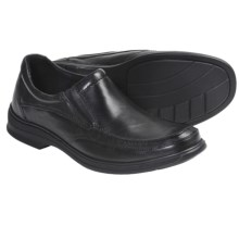 Clarks Euclid Gore Shoes - Slip-Ons (For Men) in Black - Closeouts