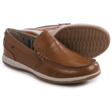 Clarks Fallston Step Shoes - Leather (For Men) in Tan Leather - Closeouts