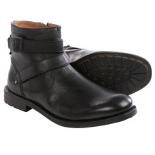 Clarks Faulkner Top Boots - Leather (For Men) in Black Leather - Closeouts