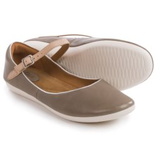 Clarks Feature Film Mary Jane Shoes - Leather (For Women) in Sage Leather - Closeouts