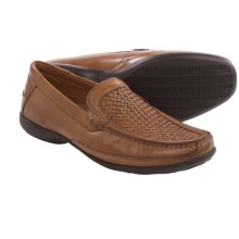 Clarks Finer Weave Loafers (For Men) in Tan Leather - Closeouts