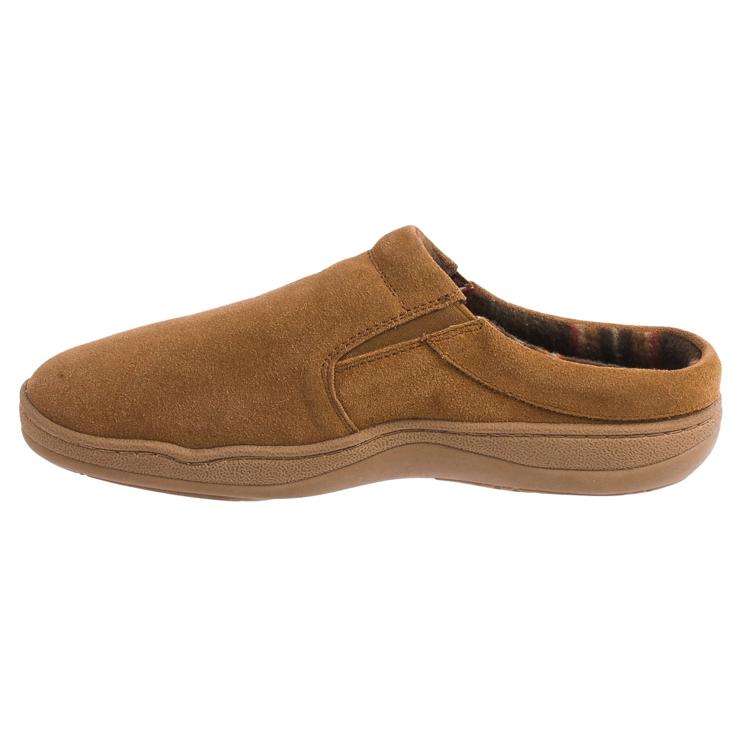 Shop our mens slippers for maximum comfort and foot support. Our leather and suede house shoes for men are built to last for years.