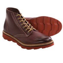 Clarks Frelan Rise Boots (For Men) in Burgundy - Closeouts