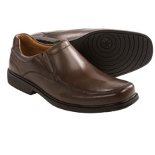 Clarks Gatewood Step Shoes - Slip-Ons (For Men) in Walnut - Closeouts