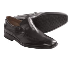Clarks Goya Way Shoes - Leather, Slip-Ons (For Men) in Black Leather - Closeouts