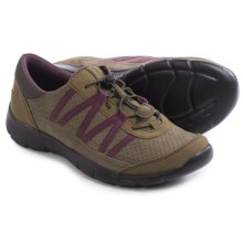 Clarks Hedge Tipi Lace Shoes (For Women) in Charcoal Suede - Closeouts