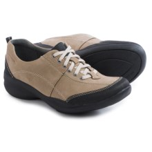 Clarks InMotion Drive Shoes - Nubuck (For Women) in Taupe Nubuck - Closeouts
