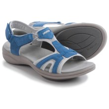 Clarks Inmotion Quaid Sandals - Suede (For Women) in Denim Blue Suede - Closeouts