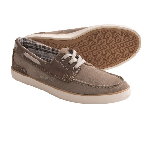 Clarks Jax Lace-Up Shoes - Suede (For Men) in Brown/Taupe