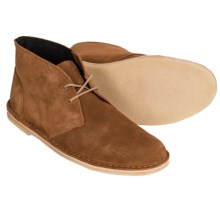 Clarks Jink Desert Chukka Boots - Suede (For Men) in Cola Suede - Closeouts
