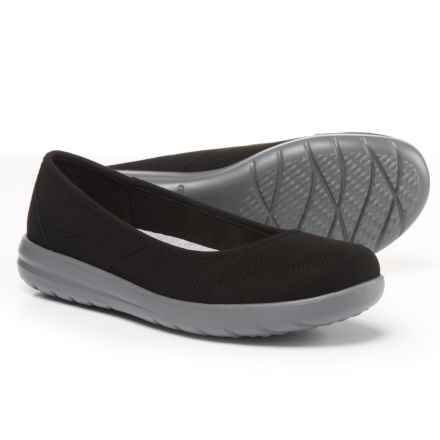 Clarks Jocolin Myla Skimmers (For Women) in Black Textile - Closeouts