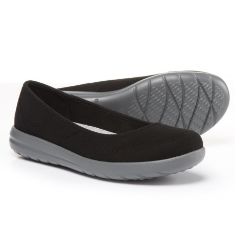 Clarks Jocolin Myla Skimmers (For Women) in Black Textile