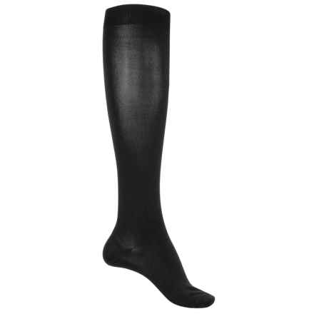 Clarks Knee-High Trouser Socks - Over the Calf (For Women) in Black - Closeouts