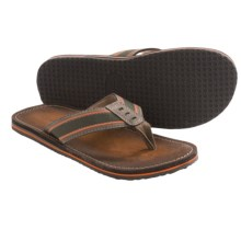 Clarks Logan Tulum Sandals - Flip-Flops (For Men) in Olive - Closeouts