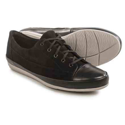 Clarks Lorry Grace Sneakers - Suede (For Women) in Black Combo - Closeouts