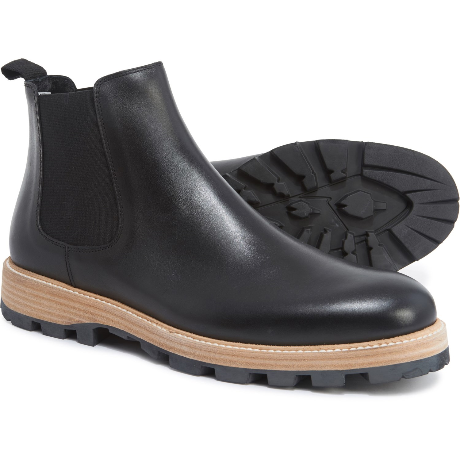good search for newest hot-selling Clarks Made in Italy Lorwin Mid Chelsea Boots - Leather (For Men)