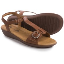 Clarks Manilla Lift Sandals - Leather (For Women) in Tan Leather - Closeouts
