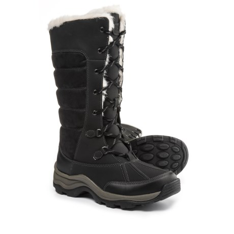 Clarks Mazlyn Mill Pac Boots - Leather (For Women) in Black