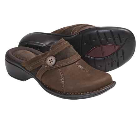 Clarks Mill River Leather Clogs (For Women) in Brown - Closeouts