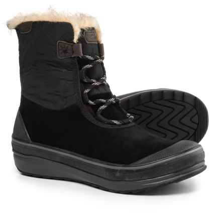 Clarks Muckers Mist Snow Boots - Waterproof, Suede (For Women) in Black Combination - Closeouts
