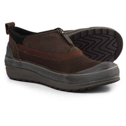Clarks Muckers Ruck Leather Rain Shoes - Waterproof, Insulated (For Women) in Brown Nb - Closeouts