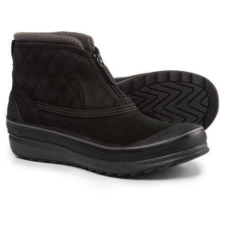 Clarks Muckers Swale Low Snow Boots - Waterproof, Insulated (For Women) in Black Nubuck