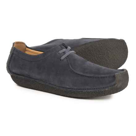 Clarks Natalie Moccasins - Suede (For Men) in Navy Suede - Closeouts