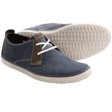 Clarks Neelix Vibe Shoes - Suede (For Men) in Denim - Closeouts