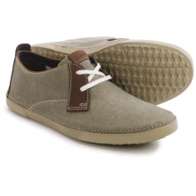 Clarks Neelix Vibe Shoes - Suede (For Men) in Green - Closeouts