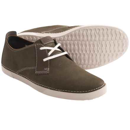 Clarks Neelix Vibe Shoes - Suede (For Men) in Grey - Closeouts