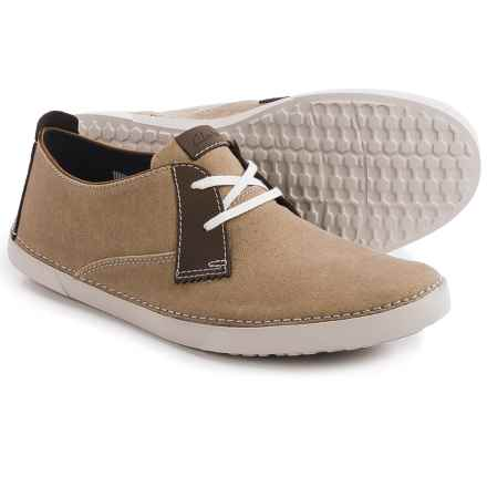 Clarks Neelix Vibe Shoes - Suede (For Men) in Sand - Closeouts