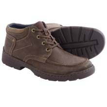 Clarks Newbern Up Shoes (For Men) in Dark Brown Leather - Closeouts