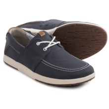 Clarks Norwin Go Sneakers (For Men) in Navy Synthetic - Closeouts