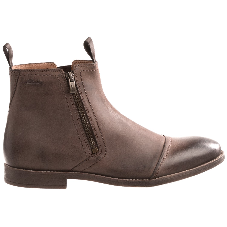 clarks novato leather boots for 8658v save 34