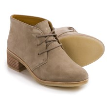 Clarks Originals Phenia Carnaby Chukka Boots - Suede (For Women) in Sand Suede - Closeouts