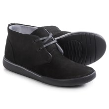 Clarks Penwick Mezza Chukka Boots (For Women) in Black Nubuck - Closeouts